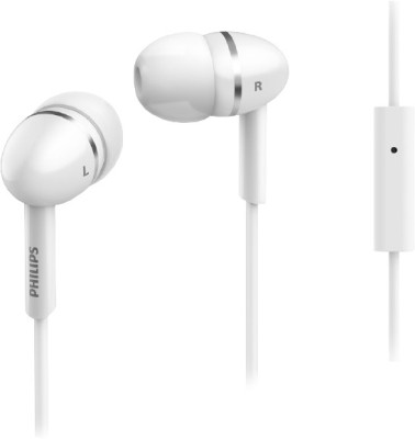 Philips SHE1455WT In the Ear Headset(White, In the Ear) 1