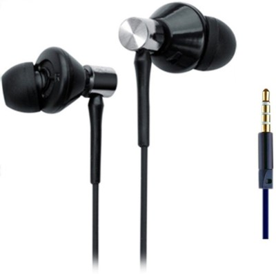 Foncase Dolby Supported Wired Headset with Mic(Black, In the Ear) 1