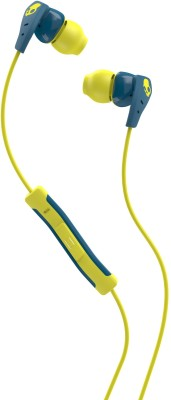 Skullcandy S2CDJY-358 Wired Headset with Mic(Teal Acid, In the Ear) 1