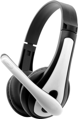 Zebronics Colt 3 Wired Headset with Mic(White, Over the Ear) 1