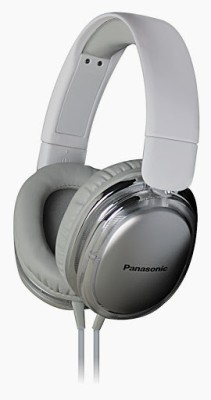 Panasonic RP-HX350ME Wired Headset with Mic(White, Over the Ear)