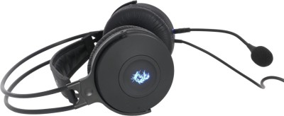 Dragon War GHS001 Garand Wired Headset with Mic(Black, Over the Ear)