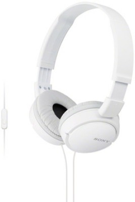 Sony MDR-ZX110-AP Wired Headphone (White)