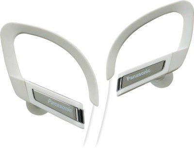 Panasonic RP-TCM125E-W Wired Headset with Mic(White, In the Ear)