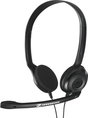 Sennheiser PC 3 CHAT Wired Headset with Mic(Black, On the Ear)