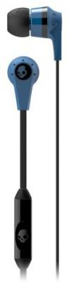 Skullcandy S2IKDY-101 Ink'd Headset(Blue & Black, In the Ear)