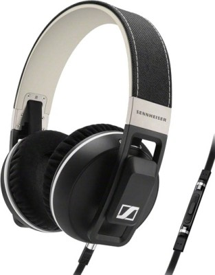 Sennheiser Urbanite XL Wired Headset with Mic(Black, Over the Ear)