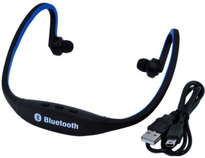 JACKSTON BS19C Bluetooth Headset(Multicolor, In the Ear)