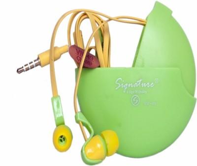 Signature VM-49 Headphone(Green, In the Ear) 1