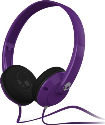 Skullcandy S5URDZ-212 Wired Headset with Mic(Athletic Purple Grey, On the Ear) 1