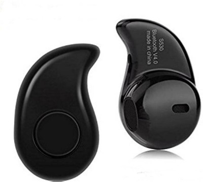 Shopkeeda Services All Smartphones COMPATIBLE Mini Style Wireless Bluetooth In-Ear V4.0 Stealth Earphone Headset Handfree With Mic Bluetooth Headset with Mic(Black, In the Ear) 1