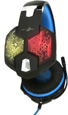 Redgear Hell Scream professional gaming headphones with 7 RGB LED colors and vibrations Wired Gaming Headset With Mic