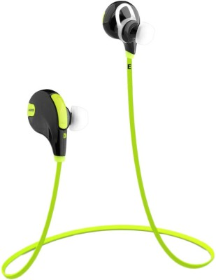 GS Jogger-QY7-N13 Headphone(Green, On the Ear) 1