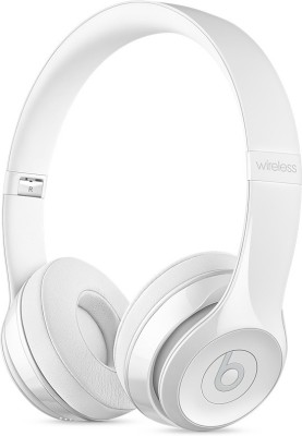 Beats MNEP2ZM/A Wireless Headset with Mic(Gloss White, On the Ear)