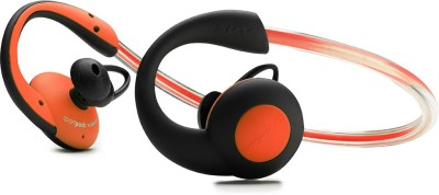 Boompods Sportspods Vision Headset with Mic(Orange, Over the Ear) at flipkart