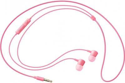 Original hs 130 Wired Headset with Mic(Pink, In the Ear) 1