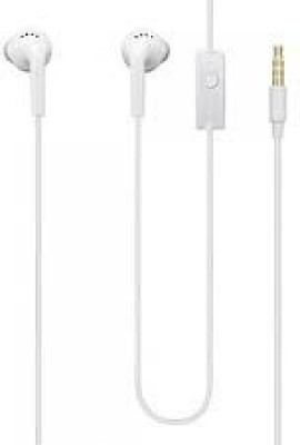 Samsung EHS61ASFWECINU Wired Headset with Mic(White, In the Ear)