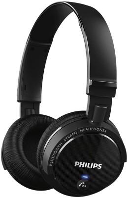 Philips SHB5500BK Bluetooth Headphone(Black, Over the Ear)