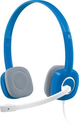 bs power EZ425 Blue Wired Headphone(Blue, Over the Ear)