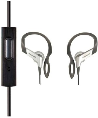 Panasonic RP-TCM16E-S Headset with Mic(Black, In the Ear) 1