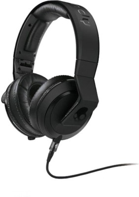 Skullcandy Mix Master Mike Headphones with Mic3 S6MMDM-030 Wired Headset with Mic(Matte Black, Over the Ear) 1