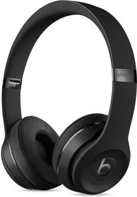Beats MP582ZM/A Bluetooth Headset with Mic(Black, On the Ear)