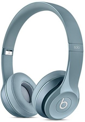 Beats Solo 2 - MH982ZM/A Wired Headset with Mic(Grey, On the Ear)
