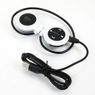 A Connect Z Mini503-HdSTMagic-357 Bluetooth Headset with Mic(White, On the Ear) 1