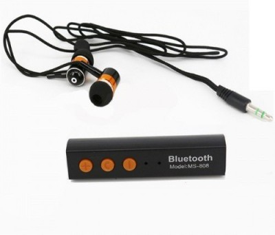A Connect Z MS-808U-Headst Good sound Stud-759 Wired, Bluetooth Headset with Mic(Black, In the Ear) 1