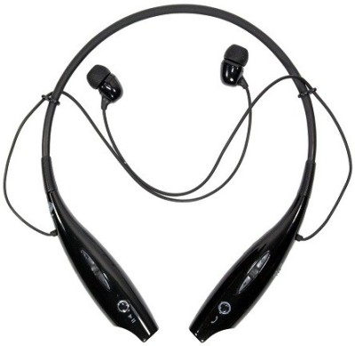 Pixxtech hsb730pixxhds Bluetooth Headset with Mic(Black, In the Ear) 1