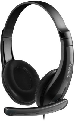 Zebronics ZEB-COLT Wired Headset with Mic(Grey, On the Ear) 1