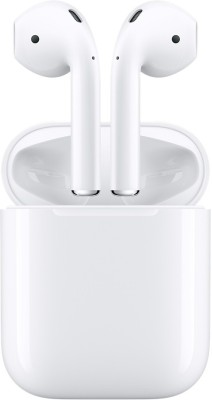Apple AirPods Bluetooth Headset with Mic(White, In the Ear)