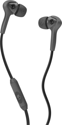 Skullcandy S2SBDY-209 Wired Headset with Mic(Carbon Grey, In the Ear) 1