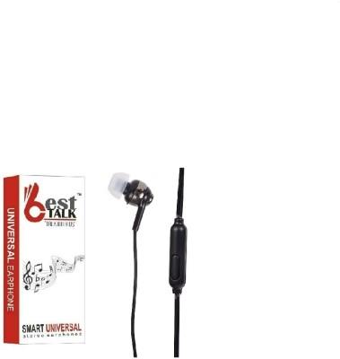 BESTTALK BT-101 Bass Pro Headphones(Black, In the Ear)