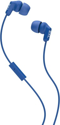 Skullcandy X2WHFY-821 Wired Headset with Mic(Blue, In the Ear) 1