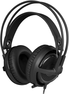 SteelSeries Siberia V3 Wired Headset with Mic(Black, Over the Ear) 1