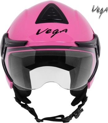 VEGA VERVE Motorbike Helmet(Pink)