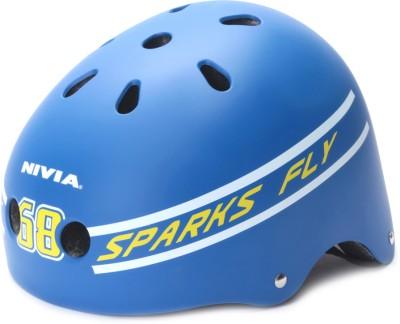 Nivia Spark 68 Skating Helmet(Blue)