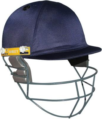 Shrey New Club with Mild Steel Visor Cricket Helmet(Navy Blue)