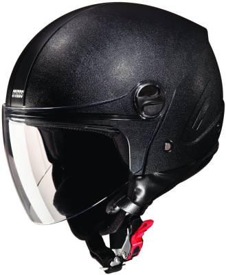 Shrih Plain Open Face Motorbike Helmet