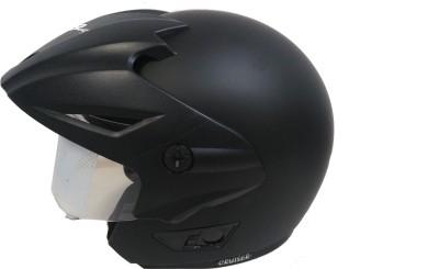 VEGA Cruiser W/P Motorbike Helmet(Dull Black)