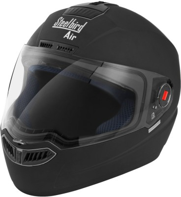 Steelbird SBA 1 Dashing Motorbike Helmet(Black)