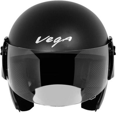 VEGA Cruiser Motorbike Helmet(Dull Black)