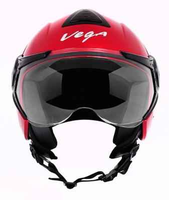 VEGA VERVE Motorsports Helmet(Cherry red)