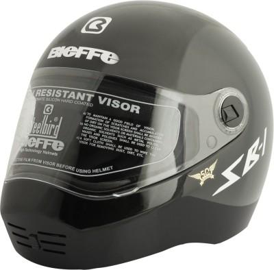 Steelbird SB- 1 Classic Motorbike Helmet(Black)  available at flipkart for Rs.1031