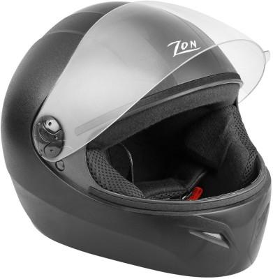 Steelbird Zon Classic Motorbike Helmet(Black)  available at flipkart for Rs.949