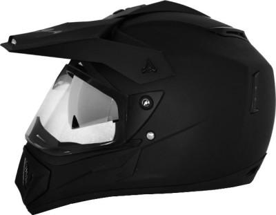 VEGA Off Road D/V Motorsports Helmet(Dull Black)