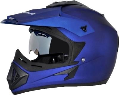 VEGA Off Road D/V Monster Motorsports Helmet(Dull Blue)