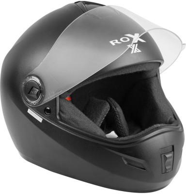 Steelbird Rox x/sbh-2 Motorbike Helmet(Black)
