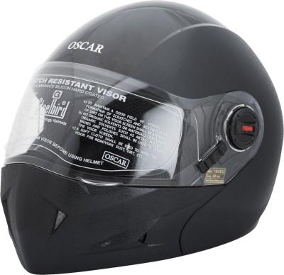 Steelbird SB-41 Oscar Classic X Motorbike Helmet(Black)  available at flipkart for Rs.1132